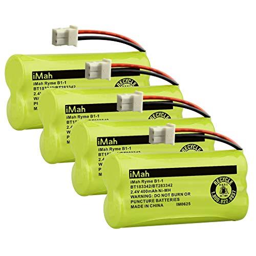 imah bt183342 bt283342 bt166342 bt266342 bt162342 bt262342 cordless phone  battery compatible with vtech cs6114 cs6419 cs6609