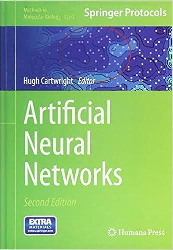 Artificial Neural Networks (Methods in Molecular Biology