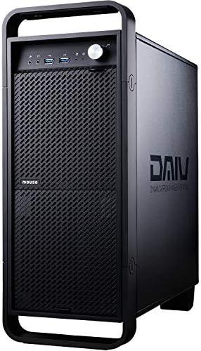 [スポンサー プロダクト]mouse クリエイター デスクトップパソコン DAIV(Ryzen 7 3700X/RX5700/16GB/1TB(Gen4)/2TB/10Pro)DA-M712SJBD7PZJ