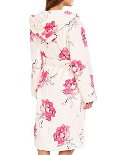 Joules Rita Ladies Dressing Gown (U) Cream Bloom