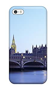 Jim Shaw Graff's Shop Best Iphone 5/5s Case Cover - Slim Fit Tpu Protector Shock Absorbent Case (city Of London)