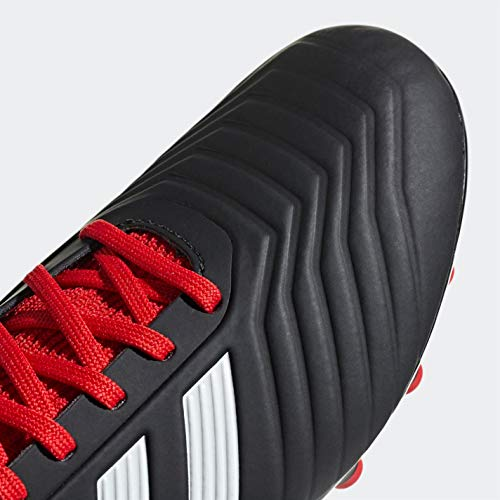 Unisex Adidas Negbás 001 Rojo Botas Adulto de 18 AG Negro Ftwbla 3 Predator Fútbol J PwPpr8q