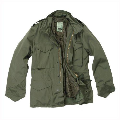 Mil-Tec Classic US M65 Jacket Olive (Large) ()