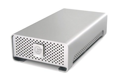 G-Technology G-RAID Mini Portable Dual-Drive External RAID Storage System Solution USB 3.0 1TB (0G02608)