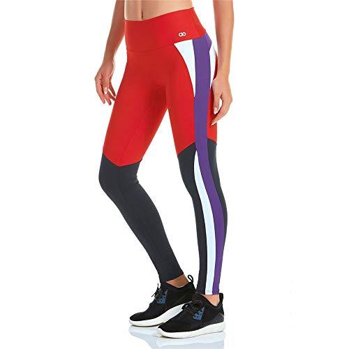 Calça Legging Alto Giro Blend Vermelha P