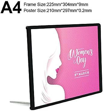 A1 / A2 / A3 / A4 Tamaños estándar Menú de restaurante Caja de luz publicitaria Último diseño Tablero