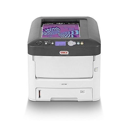 22 opinioni per OKI C712n Stampante con tecnologia LED, A4, a colori, 34 pagine al minuto