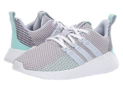 adidas Unisex Questar Flow Running Shoe, White/aero Blue/Grey, 11K M US Little Kid by adidas