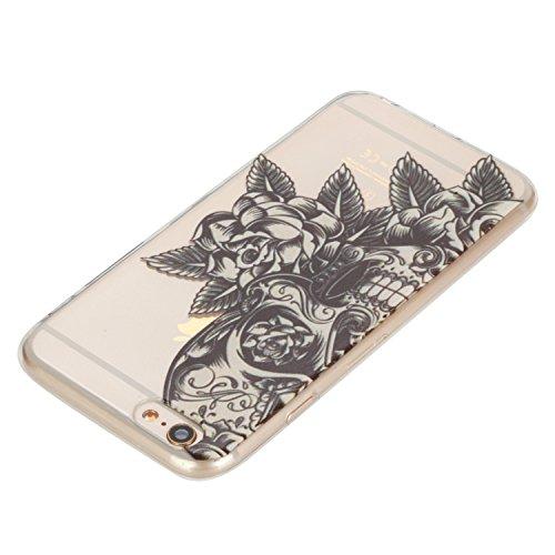 iPhone 6S Plus / iPhone 6 Plus Hülle Silikon, Lomogo Schutzhülle Durchsichtig mit Muster Stoßfest Kratzfest Handyhülle Case für Apple iPhone 6SPlus / iPhone 6Plus (5,5 Zoll) - LOHEX21756 #11 #10