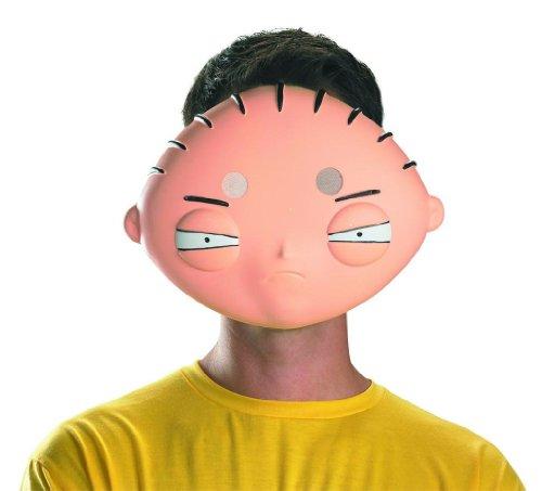 Disguise Costumes Stewie Vacuform Mask, (Halloween Stewie)