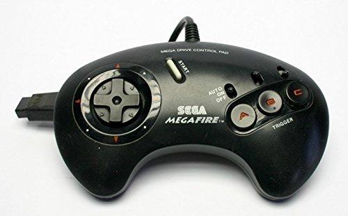 Sega Genesis MegaFire Mega Fire Turbo Controller 1657 (Mega Sega)