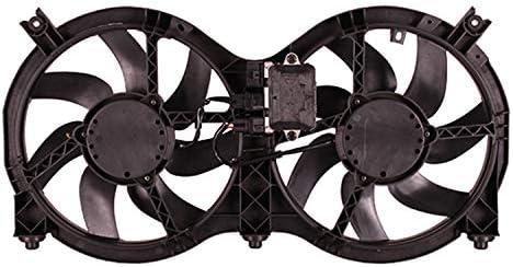 OE repuesto doble radiador ventilador condensador y Asamblea Nissan Pathfinder 2014 – 2017 (partslink ni3115149): Amazon.es: Coche y moto