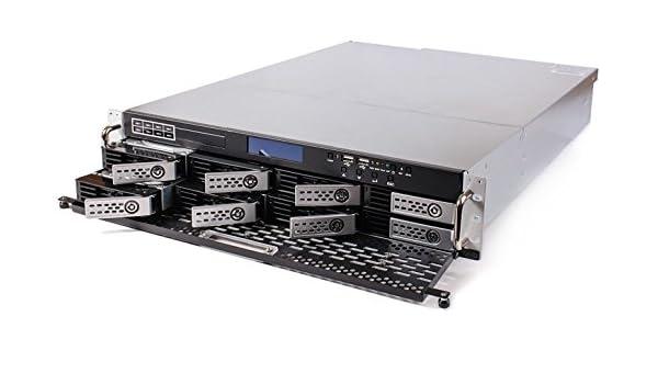 Thecus N8900 NAS Bastidor (2U) Ethernet Negro, Plata servidor de ...