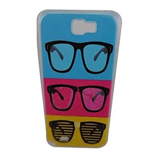 Beautiful Glasses Pattern PC Back Case for Samsung Note 2 N7100