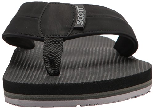 Scott Hawaii Mens Makoa Flip-flop Noir