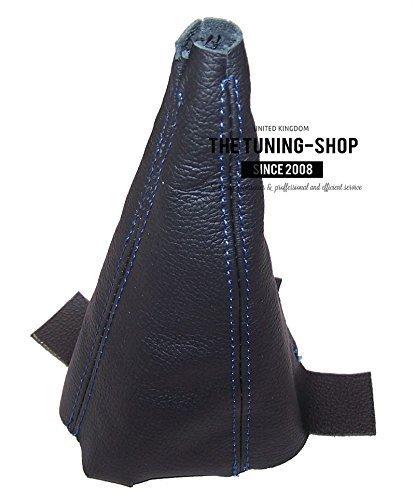 F/ür Honda Jazz 2009 15/manuelle Schaltsack schwarz Leder mit Blau N/ähten