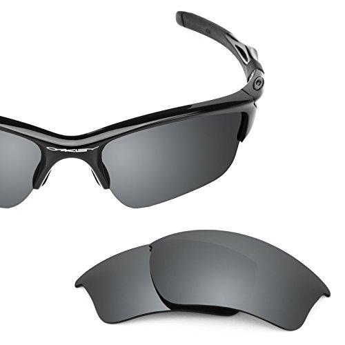 (Revant Polarized Replacement Lenses for Oakley Half Jacket 2.0 XL Black Chrome MirrorShield)