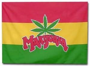 Amazon.com: Marijuana Flag by Jamaica: Sports & Outdoors