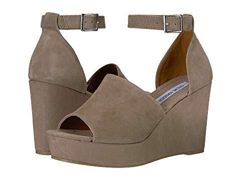 [STEVE MADDEN(スティーブマデン)] レディースヒールパンプス靴 Janette Black Suede US 8.5 (25.5cm) M [並行輸入品]   B07JQB243T