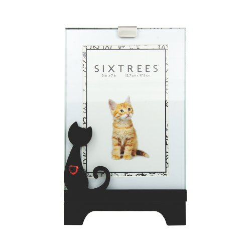 Sixtrees USA Cat Icon Heart Colchester Frame, 4 by - Cats Icon