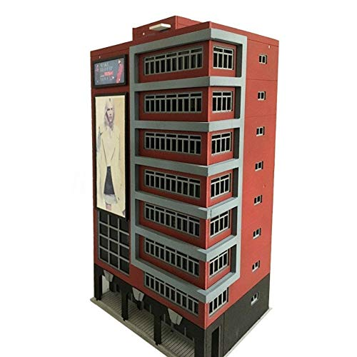 ZAMTAC 1:144 N Scale Outland Models Train Railway Trade Center Skyscraper Building Shopping Center Toy Models