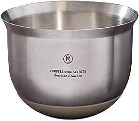Professional Secrets Rührschüssel Kitchen Edelstahl Silberfarben 1.2 L 1025