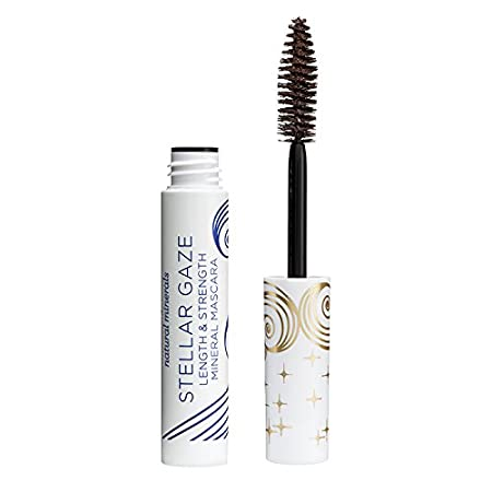 0982c38f376 Pacifica Stellar Gaze Length & Strength Mineral Mascara - Stardust  (Brown)-0.25 fl oz by Pacifica ...: Amazon.co.uk: Beauty