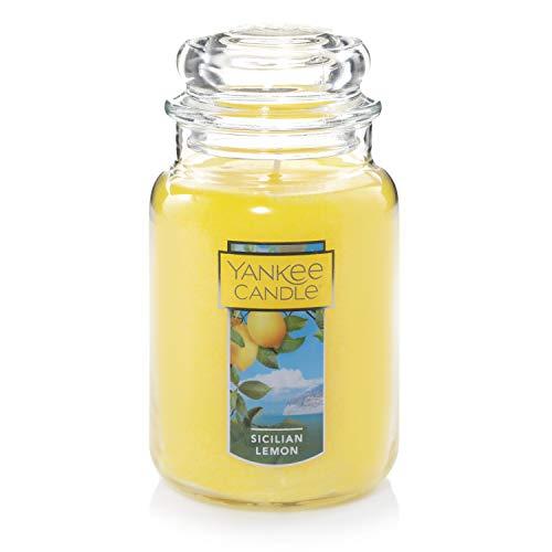 Yankee Candle Sicillian Lemon Scented Premium Paraffin Grade Candle Wax