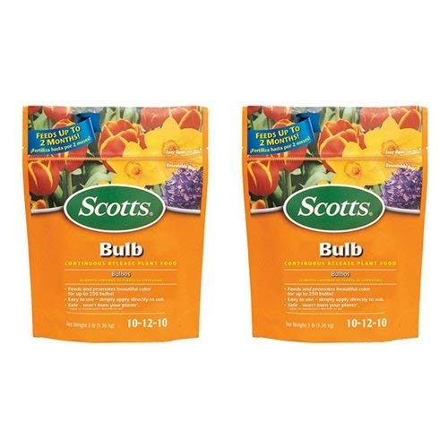 Scotts Bulb Continuous Release Plant Food, 3-Pound (Not Sold in Pinellas County, FL) (2 Pack) by Scotts