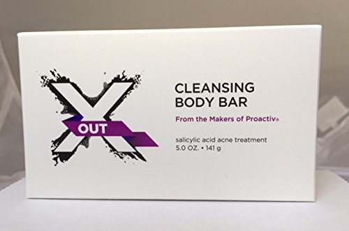 X OUT CLEANSING BODY BAR 5 OZ. (Proactiv Solution Ingredients)