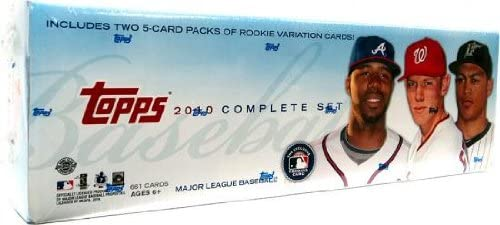 B000VVAPW6 MLB 2010 Topps Holiday Complete Factory Hobby Set (661 cards) 41y6xMvP4KL