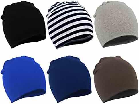 aa8d046fde5 Zando Toddler Baby Beanies Hat for Baby Girls Cotton Knit Beanie Kids  Lovely Soft Cute Cap