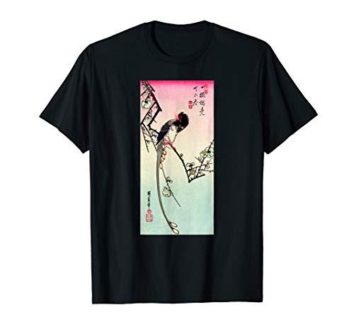 (Japanese Art Hiroshige Woodblock Art Classic Print Retro Tee)