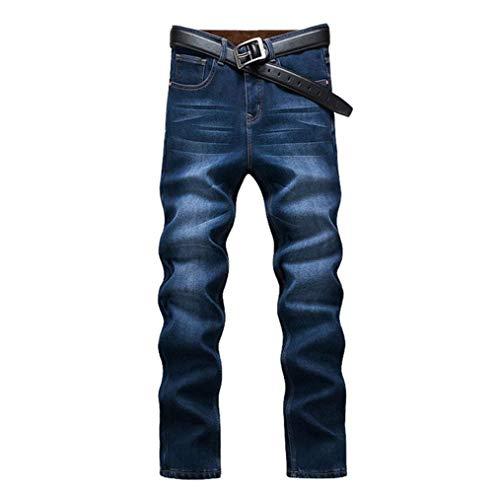 Jeans Vintage Alta Moda A Inverno Slim Uomo Da Alla Denim Blau1 Autunno E Fit Vita Pantaloni dgTqU4wSnd