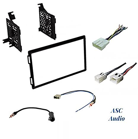 Premium Car Stereo Install Dash Kit, Wire Harness, and Antenna Adapter on