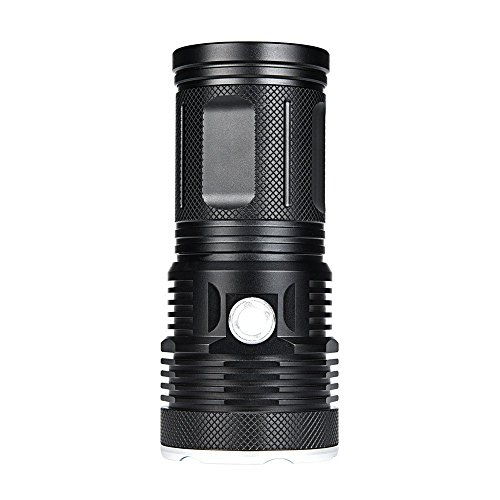 WindFire New Ultra Bright 16 LED Handheld Searchlight, T6 LED Water Resistant Best High Lumen Tactical Flashlight with 3 Modes, Portable Self-Defense Spotlight Torch for Home Outdoor Camping, Hunting by WindFire (Image #3)