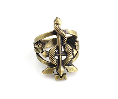 Collectible Keychain Watch - NoveltyBoy Fullmetal Alchemist Anime Pocket Watch Necklace Ring Keychian Cross Pendant Chain Snake Cosplay