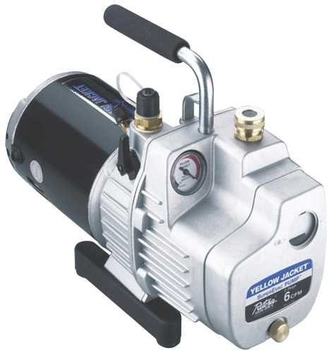 But with Yellow Jacket vacuum pump, you are sure of high vacuum rate and durability. This a new entry in the market.