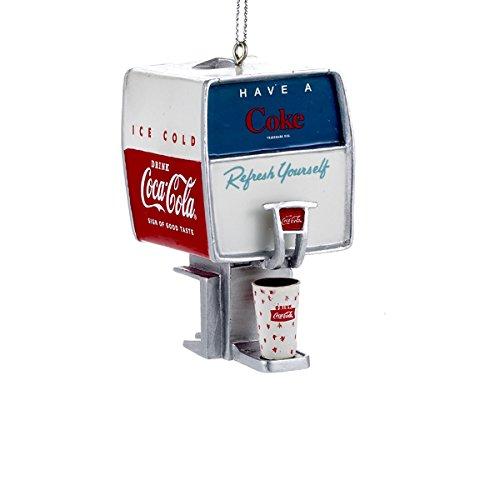 Coca Cola Vintage Fountain Soda Dispenser Christmas Ornament (Coca Cola Christmas Soda compare prices)