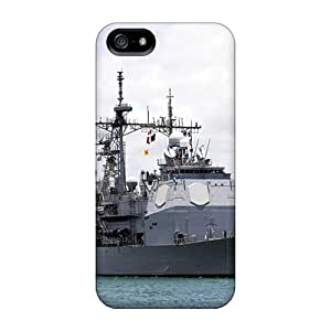 Snap-on Cases Designed For Iphone 5/5s- Guided Missile Cruiser Uss Lake Erie Cg 70