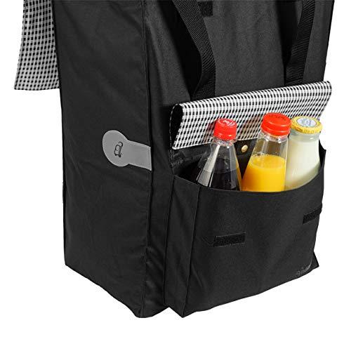 Andersen Einkaufstrolley Scala und 49 Liter Einkaufstasche Milla schwarz