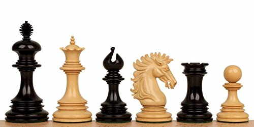 Boxwood Weight Triple (The Chess Store Wellington Staunton Chess Set in Ebony & Boxwood- 4.25