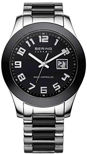 Bering Ceramic Collection Reloj radiocontrolado para hombres Con elementos de cerámica: Amazon.es: Relojes