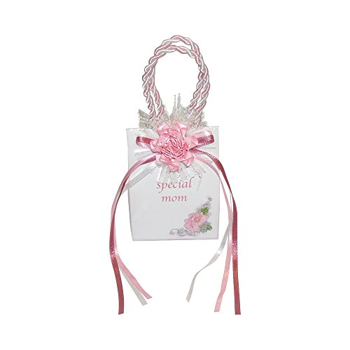 Miniature Music Box Mini Gift Bag - Pink bag 'My Special Mom