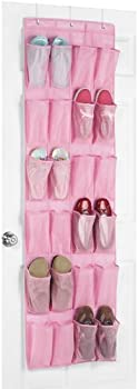 Whitmor Over The Door 24 Pocket Shoe Organizer