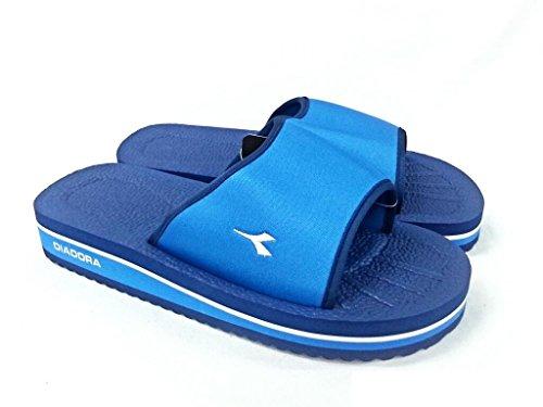 Diadora - Zapatillas de Material Sintético para hombre 65111 BLU