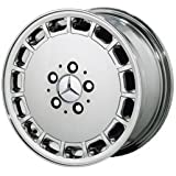 """Replica 15"""" New Look (15 hole) Chrome Wheels for Mercedes Benz - Set of 4 with Lugs and Cap!"""