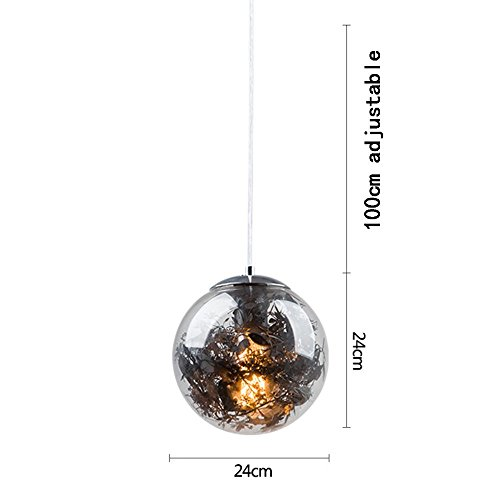 DIDIDD Nordic creative animal model kids room single head glass chandelier bedroom bar restaurant coffee shop chandelier (multiple styles available),K -24cm by DIDIDD