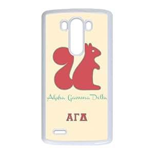 Alpha Gamma Delta Animal LG G3 Cell Phone Case White toy pxf005_5842571