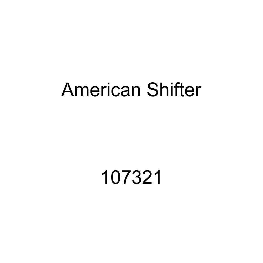 American Shifter 107321 Black Shift Knob with M16 x 1.5 Insert Yellow Old School Microphone
